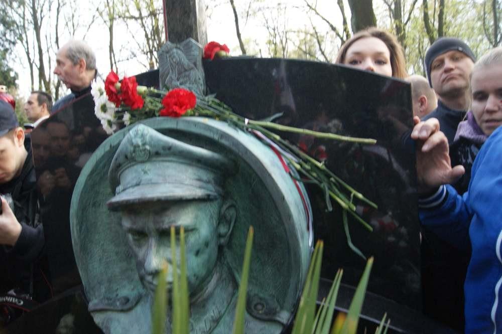 Pogrzeb Majora Zygmunta Szendzielarza
